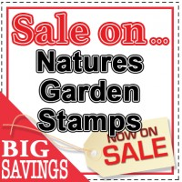 Discounted Nature's Garden Stamps