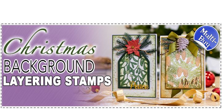 Crafter's Companion Background Layering Stamps