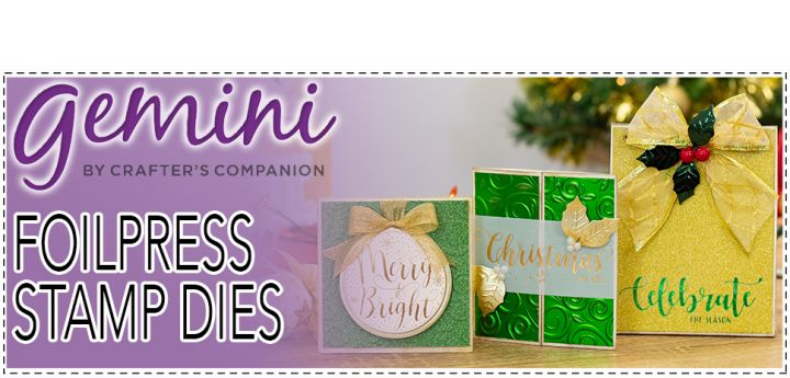 Gemini Christmas Expressions & Elements Foil Stamp Dies