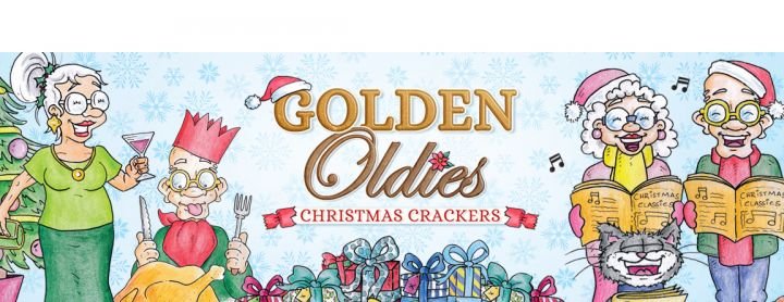 Hunkydory - Golden Oldies - Christmas Crackers