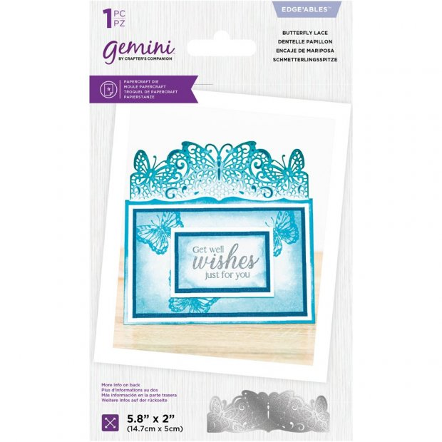 Take a look at these New Gemini Lace Edgeable dies!