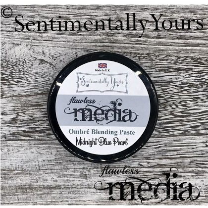 Phill Martin - Sentimentally Yours - Flawless Media - Midnight BluePearl  Ombre Blending Paste