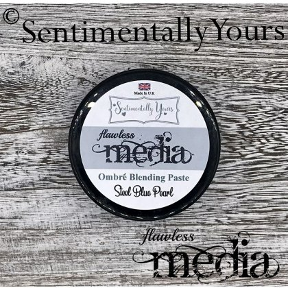 Phill Martin - Sentimentally Yours - Flawless Media - Steel Blue Pearl Ombre Blending Paste