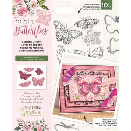 Nature's Garden Collection Stamp & Die Sets