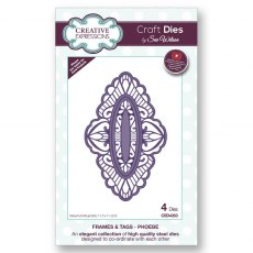 Sue Wilson Craft Dies - Frames and Tags Collection - Phoebe