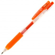 Zebra Pen Sarasa Clip Gel Ink Pen 0.5mm - Red Orange