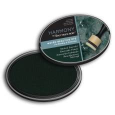 Spectrum Noir Ink Pad - Harmony Water Reactive - Smoked Emerald