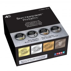 Spectrum Noir  - Metallic Liquid Ink Pots - Rich Metallics Set