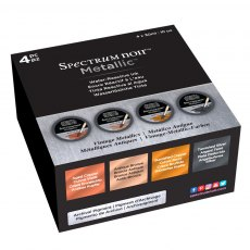 Spectrum Noir  - Metallic Liquid Ink Pots - Vintage Metallics Set