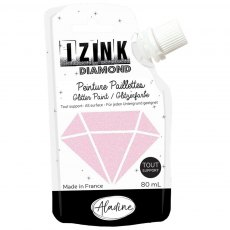 Izink Diamond Paint - Rose Pastel (Pastel Rose)