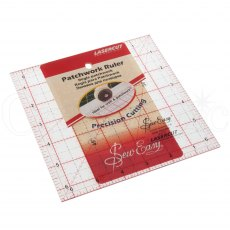 Sew Easy Patchwork Ruler - 6.5 x 6.5 inches