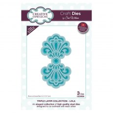 Sue Wilson Craft Dies - Triple Layer Collection - Lola