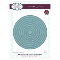 Sue Wilson Craft Dies - Noble Collection - Double Stitched Circles