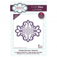 Sue Wilson Craft Dies - Frames and Tags Collection - Beatrice
