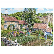 Ravensburger 2 x 500 Piece Puzzle - Cosy Cottages - North Yorkshire