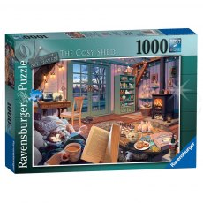 Ravensburger 1000 Piece Puzzle - My Haven No. 6 - The Cosy Shed