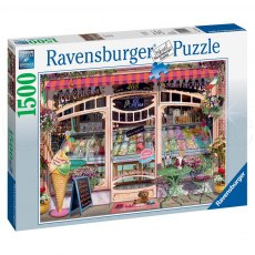 Ravensburger 1500 Piece Puzzle - Ice Cream Shop