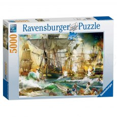Ravensburger 5000 Piece Puzzle - Battle on High Sea
