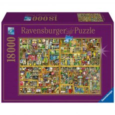 Ravensburger 18000 Piece Puzzle - Magical Bookcase