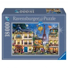 Ravensburger 18000 Piece Puzzle - An Evening Walk in Paris