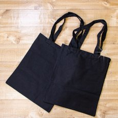 Threaders Cotton Tote Bags - Black