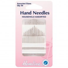 Hemline - Hand Sewing Needles - Household - 50 pieces