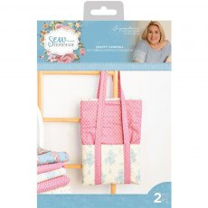 Sara Davies Signature Collection - Sew Homemade - Pattern Pack - Crafty Carryall