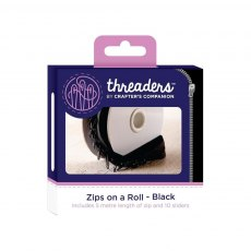 Threaders - Zips on a Roll - Black