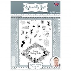 Sentimentally Yours Photopolymer Stamp - Montage Collection - Mystical Moments Frame Set