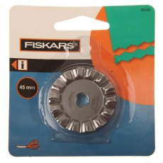 Fiskars - Rotary Blade - Squiggle 45 mm