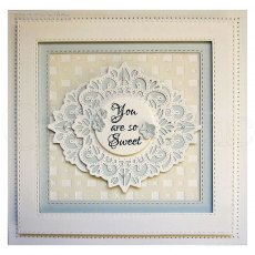 Sue Wilson Craft Dies - Filigree Artistry Collection - Diagonal Background