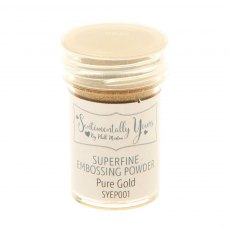 Phill Martin - Sentimentally Yours - Superfine Embossing Powder - Pure Gold