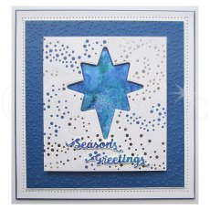 Sue Wilson Craft Dies - Festive Collection 2019 - Shadowed Sentiment - Season's Greetings