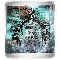Mixed Media Transfers by Andy Skinner - French Fancy