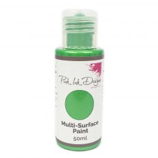 Pink Ink - Multi Surface Paint - Meadow Grass Shimmer