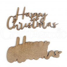 MDF - Art-Effex - Rectangle Size Collection - Happy Christmas