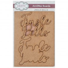 MDF - Art-Effex - Rectangle Size Collection - Jingle Bells