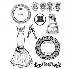 Stamperia - High Definition Stamps - Wedding