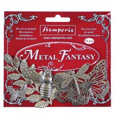 Stamperia - Metal Fantasy Embellishments - Nature