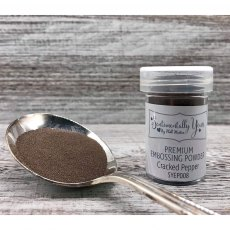 Phill Martin - Sentimentally Yours - Premium Embossing Powder - Cracked Pepper