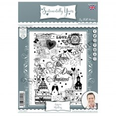 Phill Martin - Sentimentally Yours Stamps - Amore Medley
