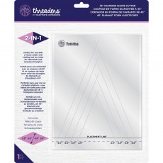 Crafters Companion - Threaders Shape Cutter - 45º Diamond