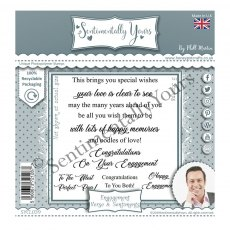 Phill Martin - Sentimentally Yours Stamps - Ultimate Verse & Sentiments - Engagement
