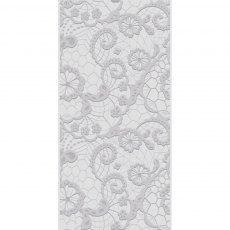 Gemini - 3D Embossing Folder - Decorative Lace - 5.75 x 2.75 inches