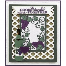 Sue Wilson Craft Dies - Frames & Tags Collection - Grape Vine Frame