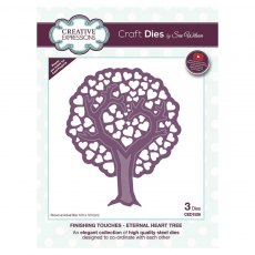 Sue Wilson Craft Dies - Finishing Touches Collection - Eternal Heart Tree