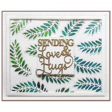 Sue Wilson Craft Dies - Finishing Touches Collection - Feather Leaf Fronds