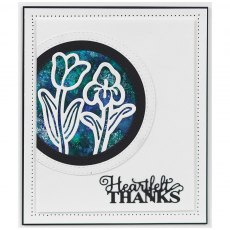 Sue Wilson Craft Dies - Mini Expressions Collection - Heartfelt Thanks