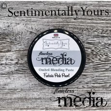 Phill Martin - Sentimentally Yours - Flawless Media - Fuchsia Pink Pearl Ombre Blending Paste