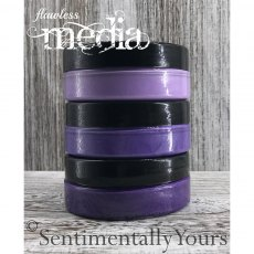 Phill Martin - Sentimentally Yours - Flawless Media - Ombre Blending Paste - Purples Set